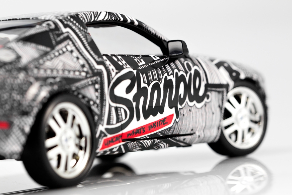 Sharpie Mustang Back View
