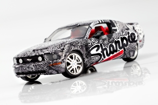 Sharpie Mustang Front View