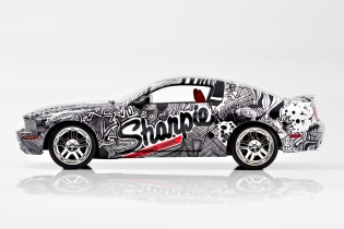 Sharpie Mustang Side View